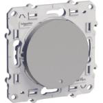 Девиаторен ключ 10 AX, с глим лампа или индикаторна лампа, Алуминий