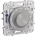 Електронен термостат с външен сензор за подово отопление, 10 А, Алуминий