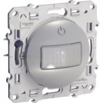 Детектор за движение и присъствие, 10 А, трипроводен, Алуминий