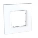 Единична рамка Unica Quadro, Бял