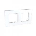 Двойна рамка Unica Quadro, Бял