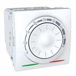 Термосат за подово отопление 10 A, двумодулен, Бял