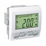 Устройство за управление на стайна температура KNX, двумодулно, Бял
