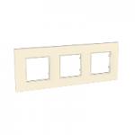 Тройна рамка Unica Quadro Перла, Перла