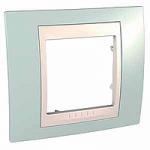 Единична рамка Unica Plus, Морско зелен/Слонова кост