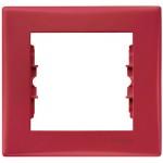 Единична рамка, Червено