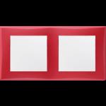 Двойна хоризонтална рамка, Червено