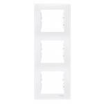 Тройна вертикална рамка, Бял