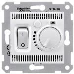 Стаен термостат 10 A - 230 V AC, Бял