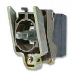 Светлинен блок с тяло и фиксирана втулка с вграден трансформатор, 1.2 VA – 6 V, 440-480 V AC, BA 9s