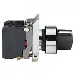 Превключвател със стандартна дръжка (2 N/O) черен - ATEX