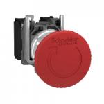 Аварийна стоп-гъба (2 N/C + 1 N/O) червена