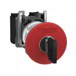 Аварийна стоп-гъба (1 N/C) червена