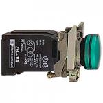 Контролна лампа 110 -120 V AC, зелена