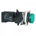 Контролна лампа 400 V AC, зелена