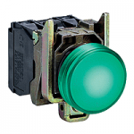 Контролна лампа 24 V AC/DC, зелена
