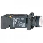 Пусков светещ бутон (1 N/O +1  N/C) BA 9s 230 V AC, бял