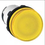Сигнална лампа с директно захранване на крушка с нажежаема жичка BA 9s ≤250 V , жълт