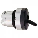 Черен превключвател, възвръщаема пружина, 2 позиции 90°