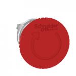 Червен авариен стоп бутон 40 Ø, превключване чрез завъртане