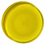 Вдлъбната леща за сигнална лампа за крушка BA 9s, Жълта