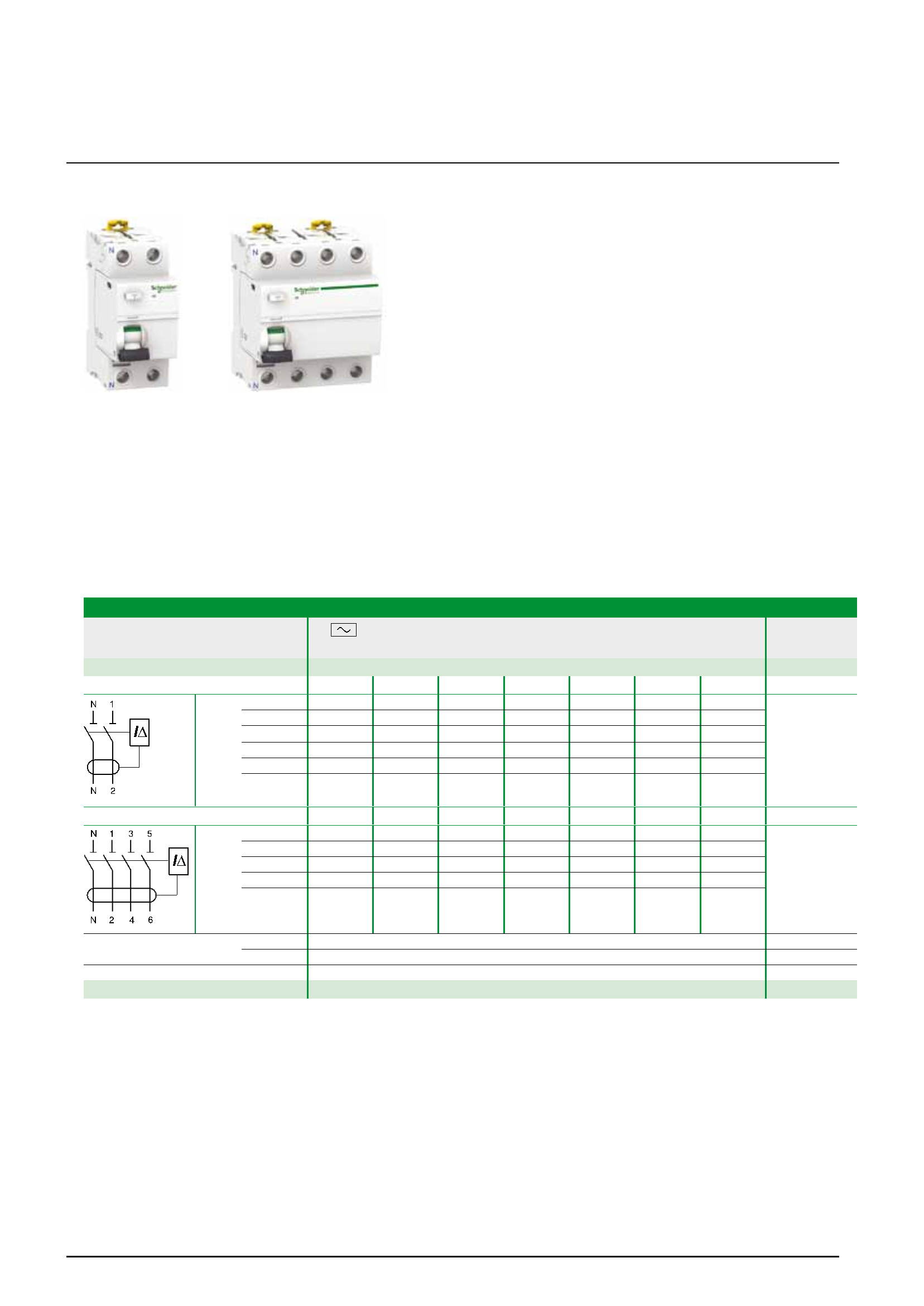 Acti9 Low Voltage The Efficiency You Deserve Circuit Breakers Gt Id Series Earth Leakage Breaker Protection