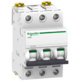 Miniature circuit breaker iC60H, 3P, 10 A, B, 6 kA