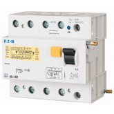 Residual current circuit breaker trip block for PLHT, PBHT, 4P, 125A, 30mA, AC