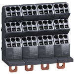 """Polybloc"" distribution block (for bare cable), 250A, 4P"
