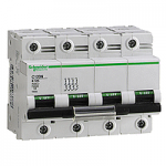 Miniature circuit breaker C120N, 4P, 80 A, C, 20 kA