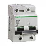 Miniature circuit breaker C120N, 2P, 100 A, D, 20 kA
