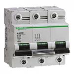 Miniature circuit breaker C120N, 3P, 63 A, D, 20 kA