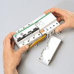 Miniature circuit breaker C120H, 4P, 125 A, C, 30kA