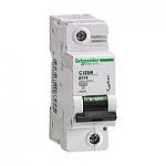 Miniature circuit breaker C120H, 1P, 100 A, D, 15 kA