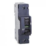 Miniature circuit breaker NG125N, 1P, 10 A, C, 25 kA