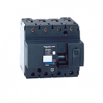 Miniature circuit breaker NG125N, 4P, 100 A, B, 25 kA