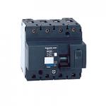 Miniature circuit breaker NG125N, 4P, 125 A, D, 25 kA