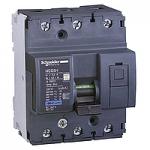 Miniature circuit breaker NG125H, 3P, 80 A, C, 36 kA