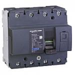 Miniature circuit breaker NG125H, 4P, 80 A, C, 36 kA