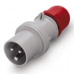 Plug IP71, 380-415 V, 32 A, 2+E, 9 h