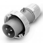 Plug OPTIMA IP67, trasf., 63 A, 2+E, 12 h