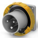 Inlet IP67, 100-130 V, 16 A, 2+E, 4 h