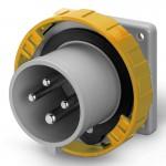 Inlet IP67, 100-130 V, 16 A, 3+E, 4 h