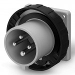 Inlet IP67, 600-690 V, 16 A, 3+E, 5 h