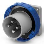Inlet IP67, 200-250  V, 32 A, 3+E, 9 h