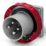 Inlet IP67, 380-440 V, 32 A, 3+E, 3 h