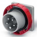 Inlet IP67, 440-460 V, 32 A, 3+N+E, 11 h