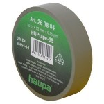 Insulating tape, 15mm, 10m, Grey