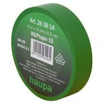 Insulating tape, 15mm, 10m, Green