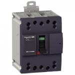 Miniature circuit breaker NG160N, 3P, 100 A, 25 kA